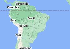 Location of Brasil