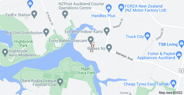 Location of Averton Place