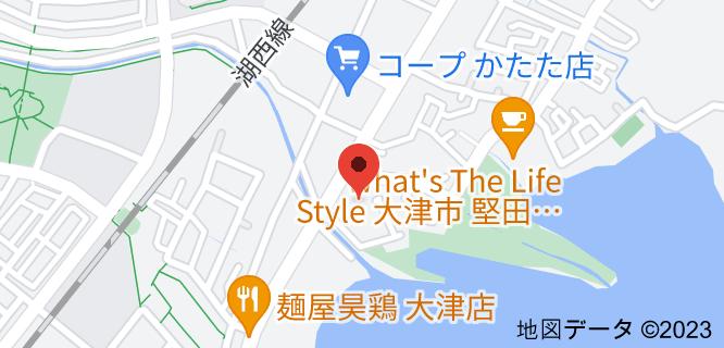 CAMP DEPOT(キャンプデポ)大津堅田店の地図