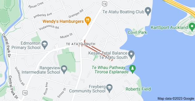 Location of Lyndhurst Road