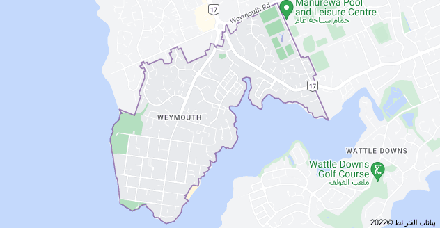 Location of Weymouth