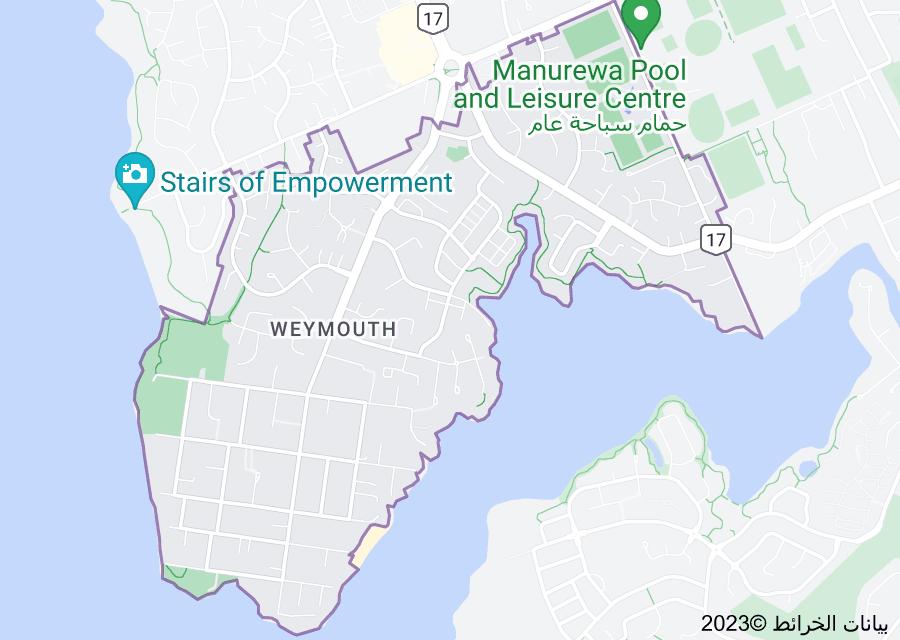 Location of Weymouth