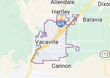 Map of Vacaville