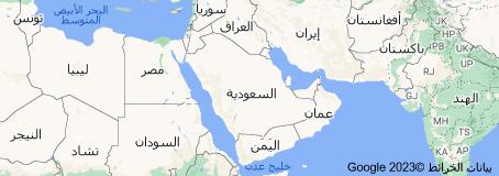 Location of السعودية