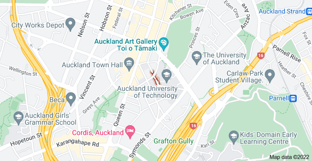 Location of Governor Fitzroy Place