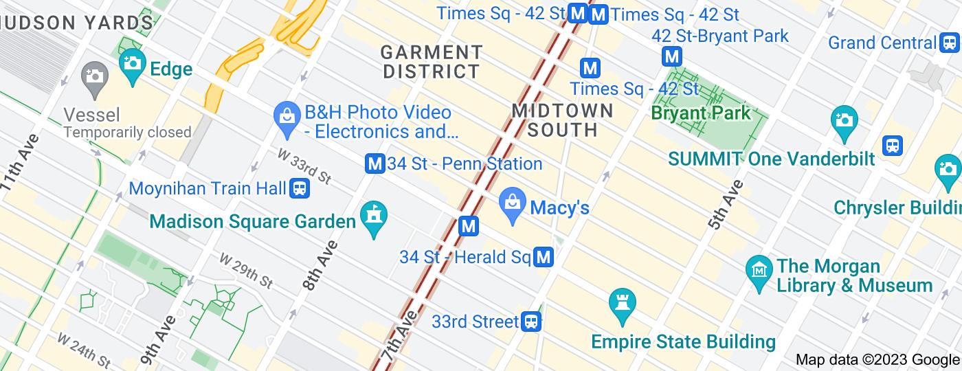 Location of Seventh Avenue