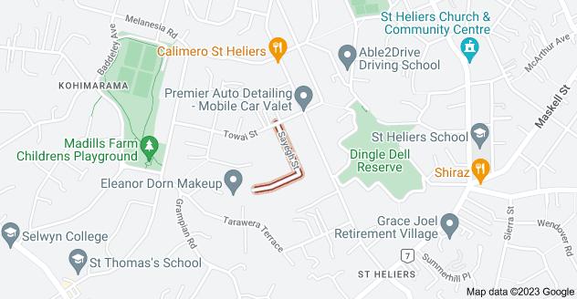 Location of Sayegh Street