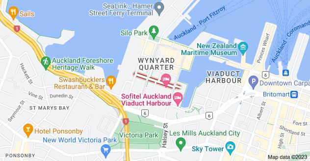 Location of Pakenham Street West
