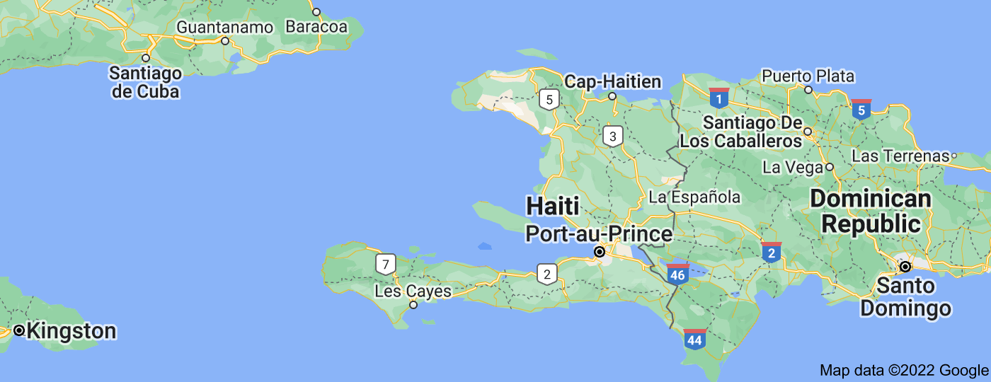 Location of Haiti