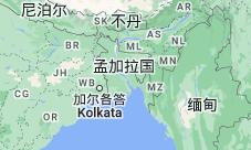 Location of 孟加拉国
