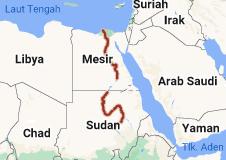 Peta Sungai Nil