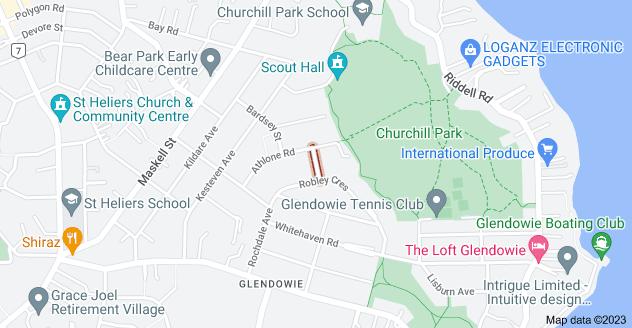 Location of Carlisle Street