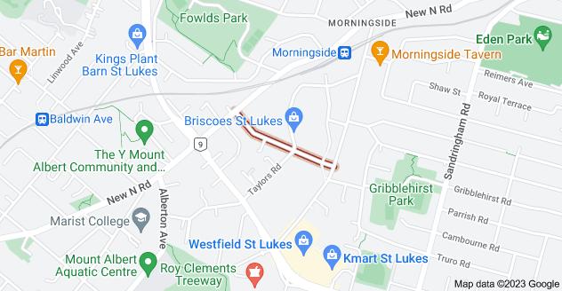 Location of Sainsbury Road