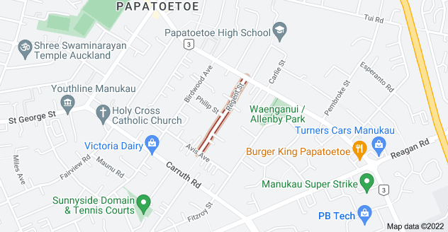 Location of Regent Street