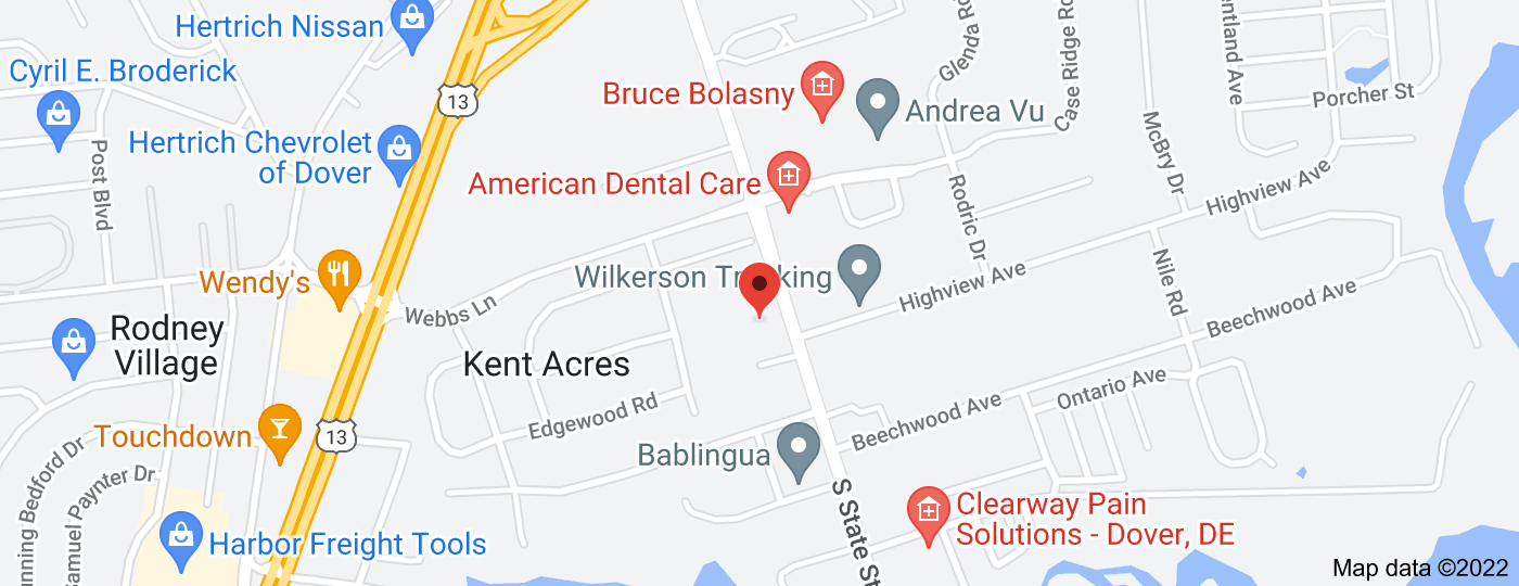 Location of Webster Robert W DDS