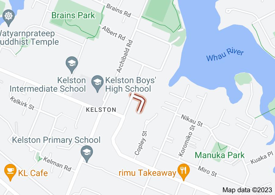 Location of Alston Avenue