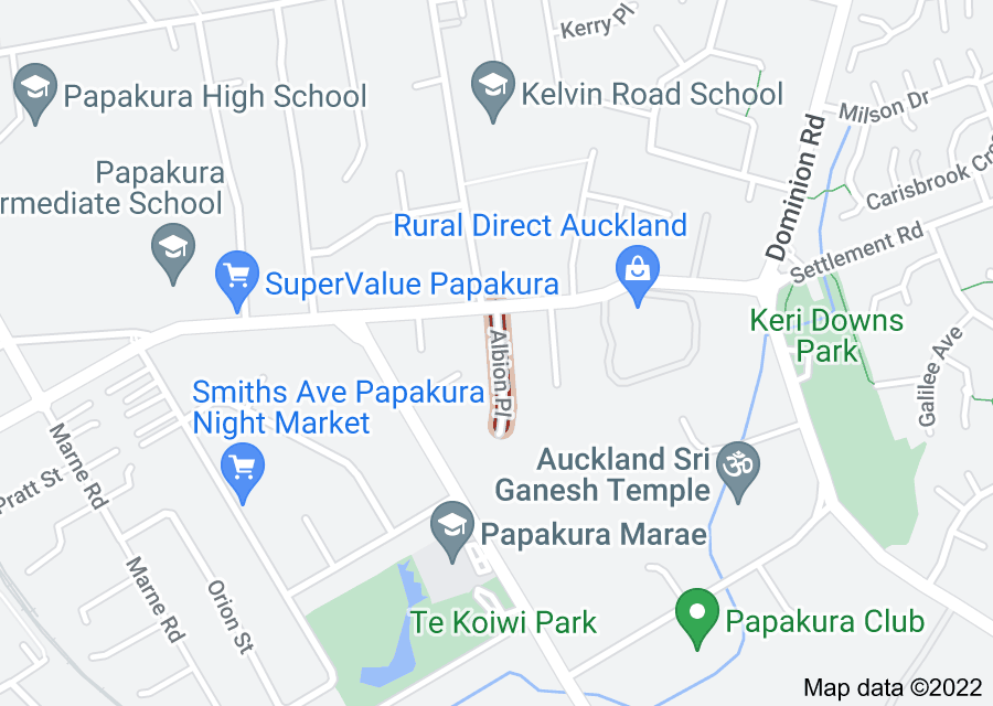 Location of Albion Place