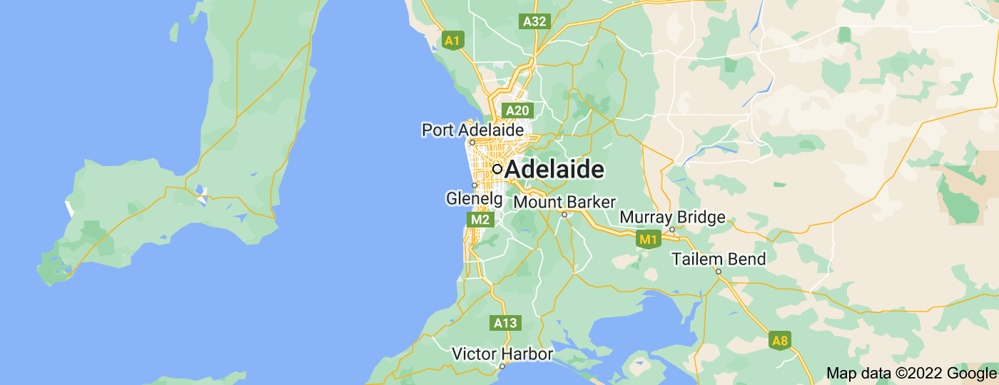 Location of Adelaide
