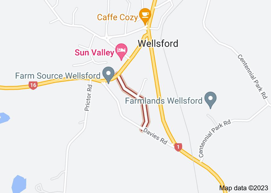 Location of Bellevue Avenue