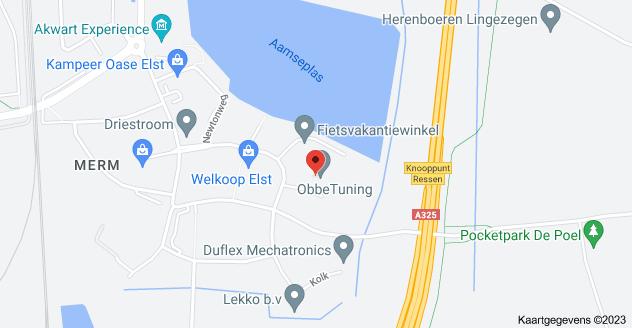Kaart van Fahrenheitstraat 15, 6662 PZ Elst