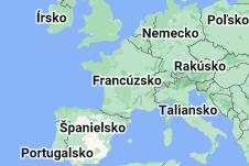 Location of Francúzsko