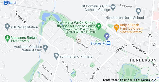 Location of Пичстон-лэйн