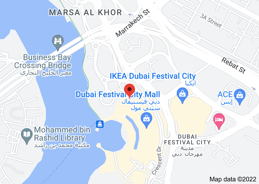 Location of Fitness First Dubai Festival City