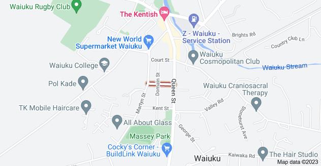 Location of Kirk Street