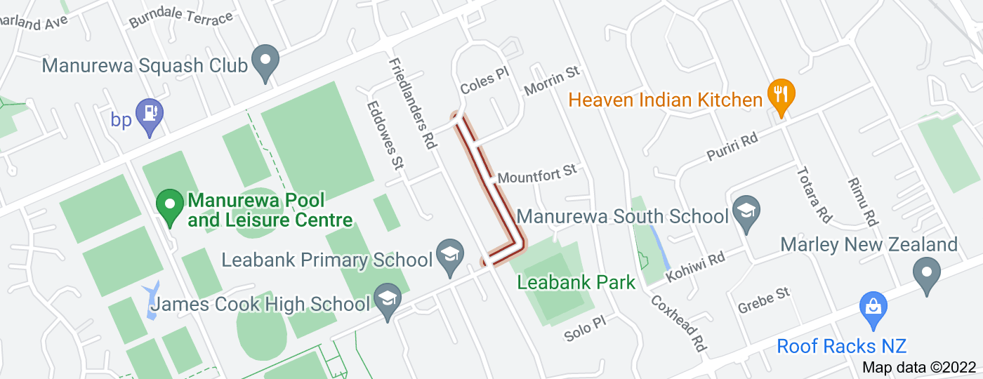 Location of Claymore Street