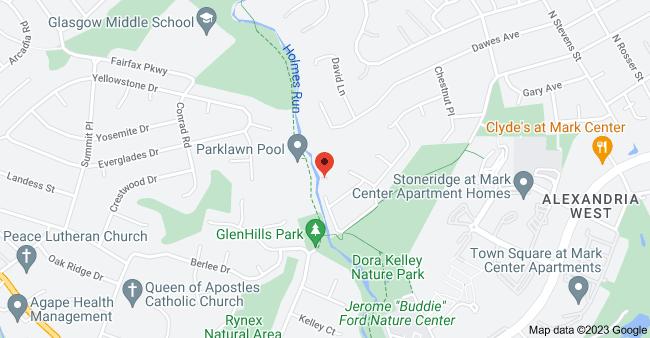 Map of 6300 Holmes Run Pkwy, Alexandria, VA 22311