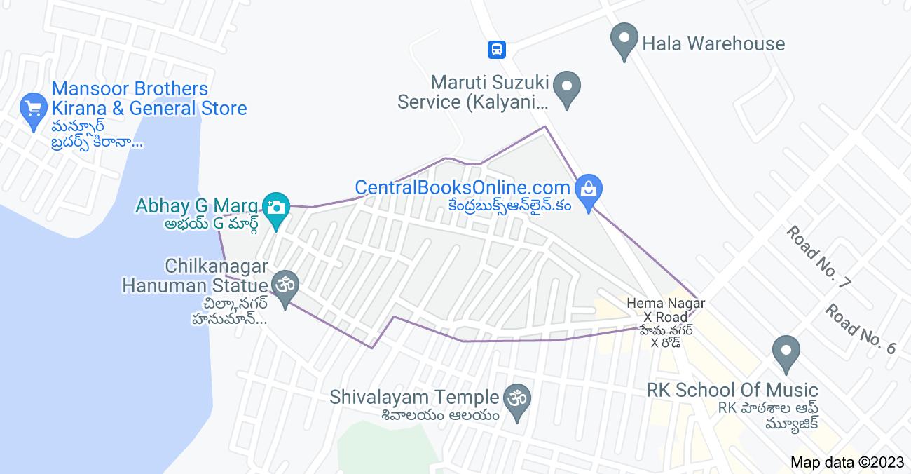 Map of Chilkanagar, Uppal, Secunderabad, Telangana 500076, India