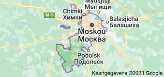 Location of Moskou
