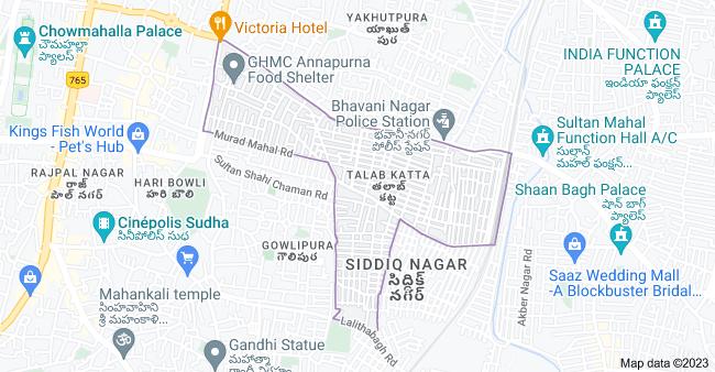 Map of Talab Katta, Hyderabad, Telangana, India