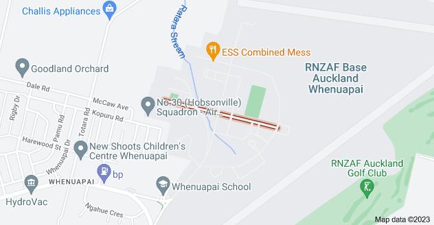 Location of Takitimu Street