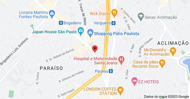 Mapa de Mapa para C9G4+RX Paraíso, São Paulo - SP