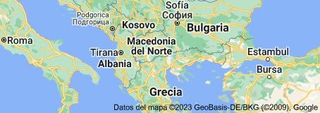 Mapa de Macedonia