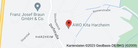 Karte von AWO Kita Harzheim