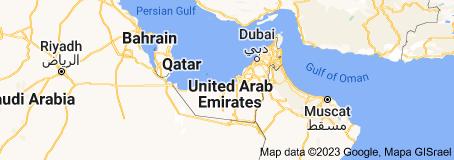 Location of United Arab Emirates