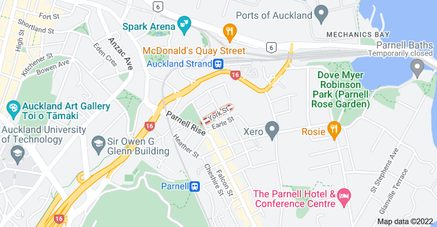Location of York Street