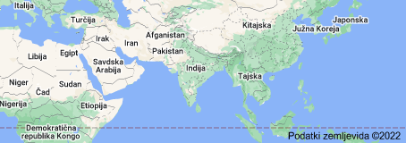 Location of Indija