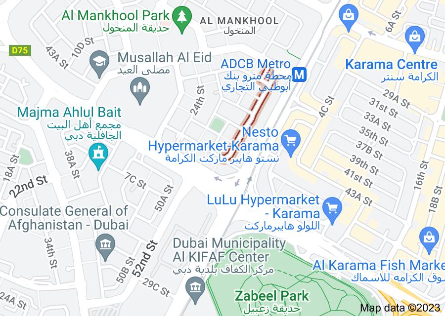 Location of 30th Street
