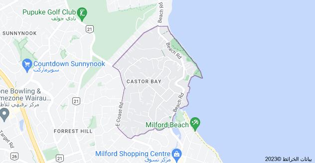 Location of خليج كاستور