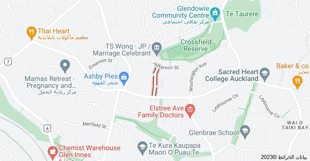 Location of Navarre Road