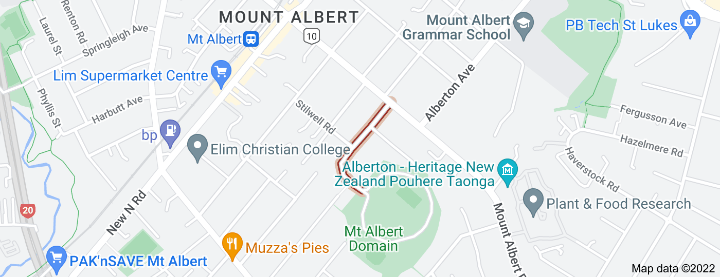 Location of Summit Drive