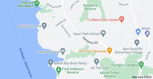 Location of Mariners View Road