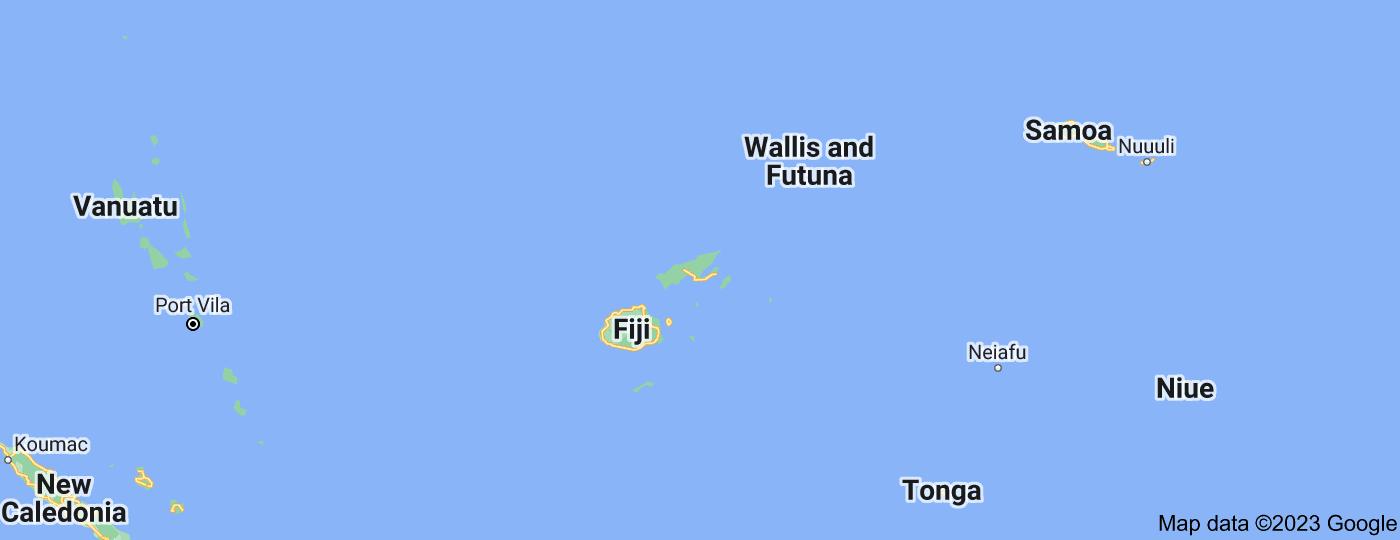 Location of Fiji