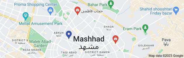 Map of حجاب فاطمی