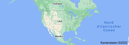 Location of Vereinigte Staaten von Amerika
