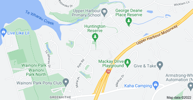 Location of Lemon Grove Lane