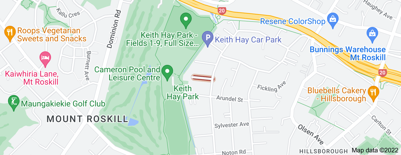 Location of Gregory Place